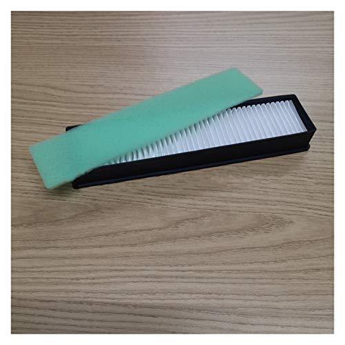 ZRNG Filtro de Polvo Suave Almohadilla de algodón Aspirador de vacío Hepa Filtro Ajuste para LG Smart Sweeping Robot Accesorios de aspiradora La instalación es Simple y fácil de Usar.