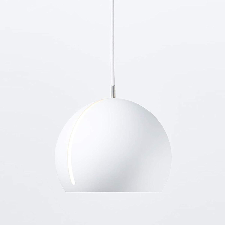 PEJGD Pendelleuchte LED Hauptdekoration-Persnlichkeit kreativ einfach kann gedreht Werden Tilt Metal Chandelier (Farbe   Wei, Gre   AC 110V-Weiß Light)