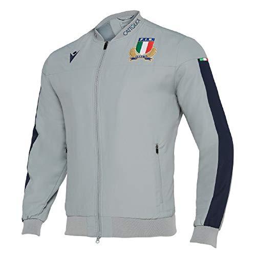 Macron Giacca Microfibra Fir Italia Rugby - 58100129 (XL)