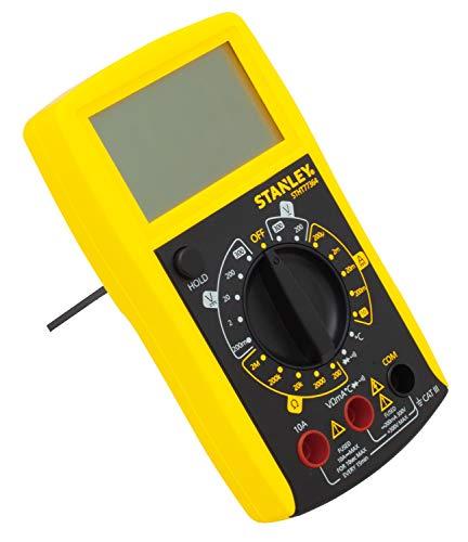 Stanley Mulitmeter (mit 7 Hauptfunktionen und großes LCD Display, aufklappbare Stütze zum freihändigen Arbeiten) STHT0-77364