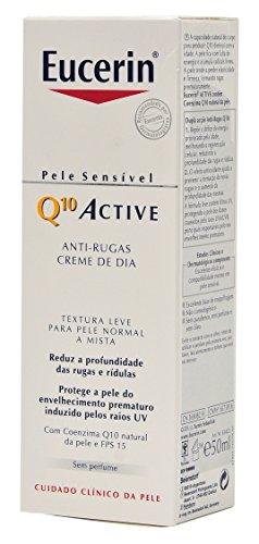 Eucerin Q10 ACTIVE Emulsión de Noche Antiarrugas - 50ml