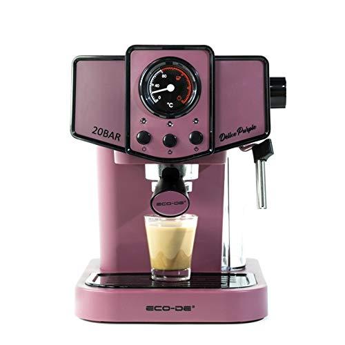 ECODE Cafetera Espresso Delice Purple 20
