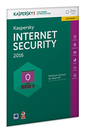Kaspersky Internet Security 2016 Upgrade - 3 PCs / 1 Jahr (Frustfreie Verpackung) [import allemand]