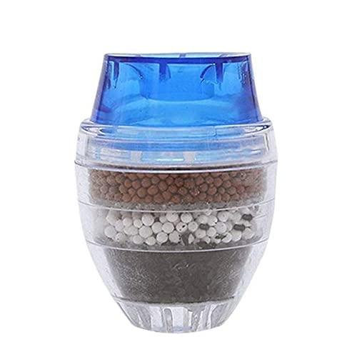 Easyeeasy Purificador de filtro de agua para grifo, filtración de grifo de cocina, carbón activado, elimina el ablandador de agua del diluyente de metales pesados