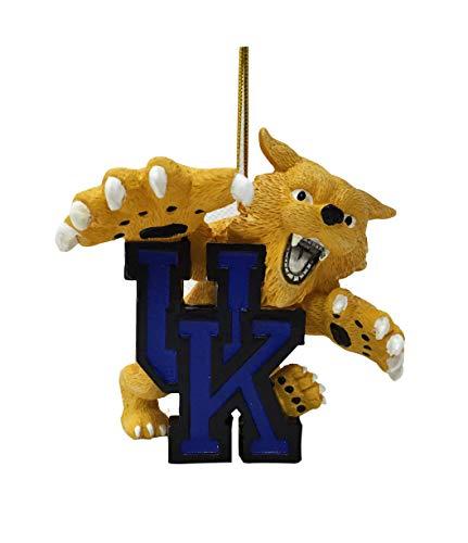 Kentucky Wildcats Mascot Christmas Ornament