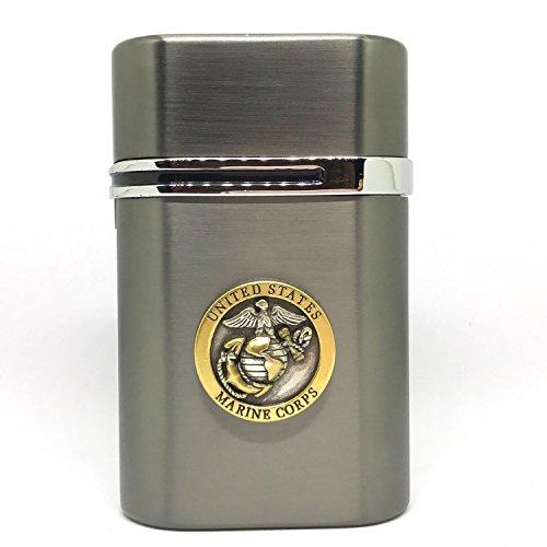 US Marines Vector Thundra Desktop Lighter Triple Torch Cigar Lighter – Cigar Cutters by Jim