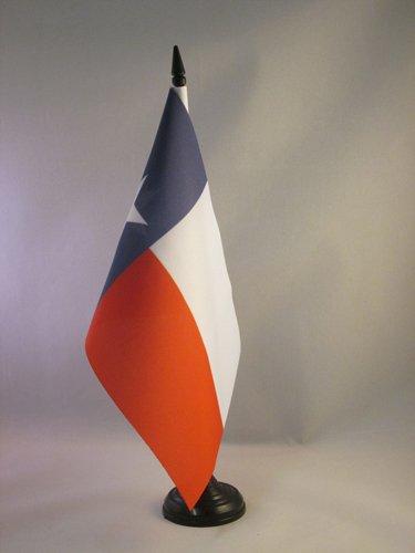 AZ FLAG TISCHFLAGGE Texas 21x14cm - Bundesstaat Texas TISCHFAHNE 14 x 21 cm - flaggen