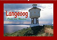 Langeoog Perle der Nordsee (Wandkalender 2022 DIN A2 quer): Details der Nordseeinsel Langeoog (Monatskalender, 14 Seiten )