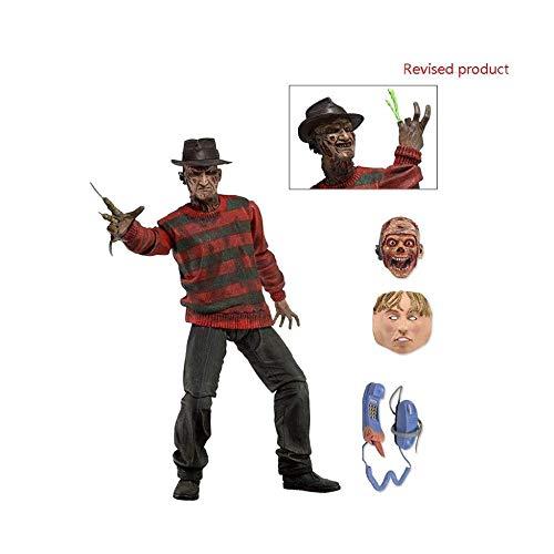 XXSDDM-WJ Muñeca Pesadilla en ELM Street - Figurilla a 7 Escalas - Ultimate Freddy0111
