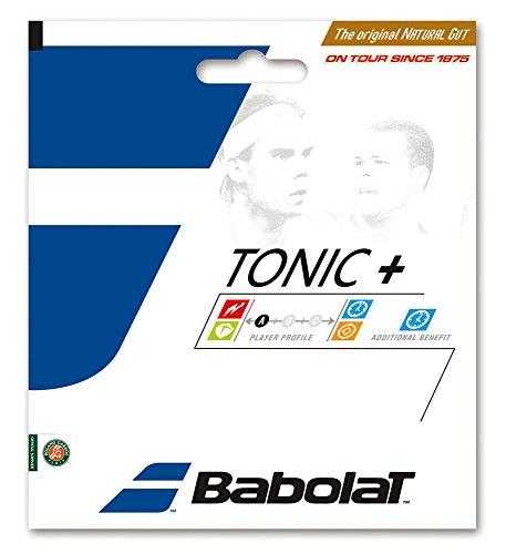 BABOLAT Tonic + Ball Feel BT7 12M Cordaje, Adultos Unisex, Naturel (Beige), 125