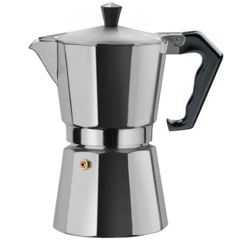Gnali & Zani BRA006 Brasil Coffee Maker 6 Tassen alu