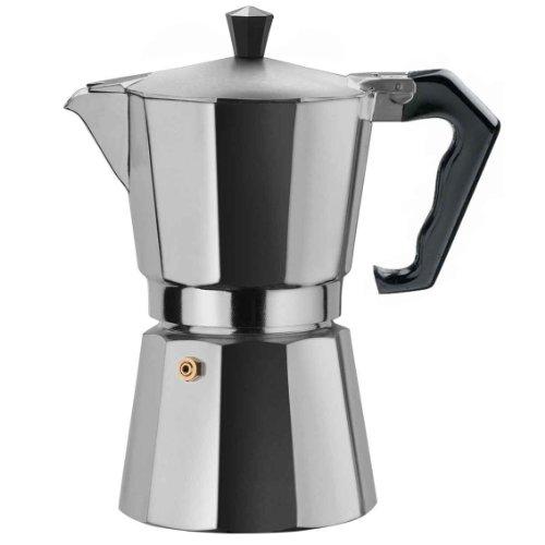 Primula Aluminum Espresso Maker - Aluminum, 6 cups