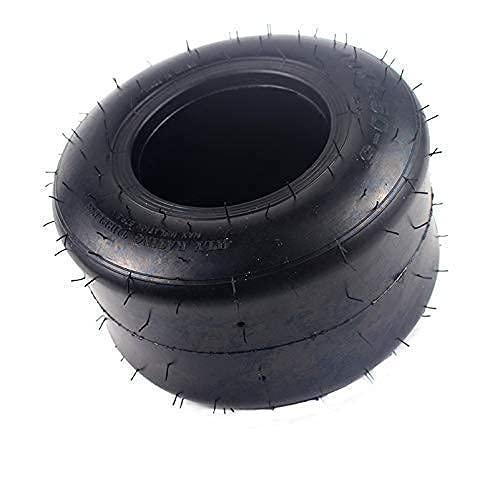 YYAI-HHJU Neumáticos De Scooter Eléctrico, Neumático Sin Cámara Delantero De 5 Pulgadas 10X4.50-5 para Go Kart Scooter ATV Quad Repuestos