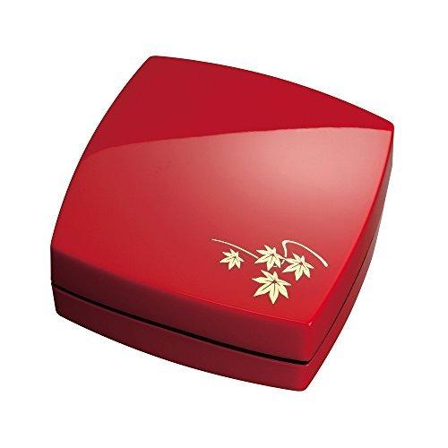 マックス プレミオ デザイン朱肉 赤/紅葉 SA-4004PD/Rモミジ 00254125 【まとめ買い3個セット】