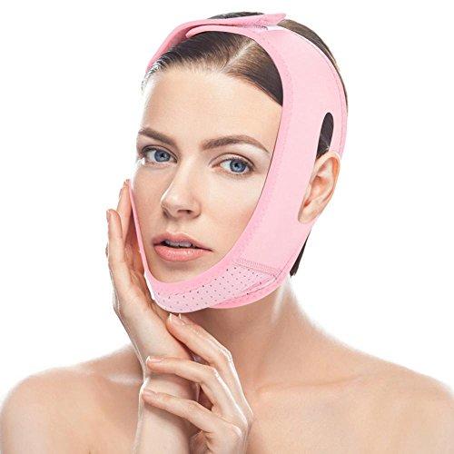 Facial que adelgaza la correa de la correa de la correa respirable cara doble cuidado de la barbilla del adelgazamiento