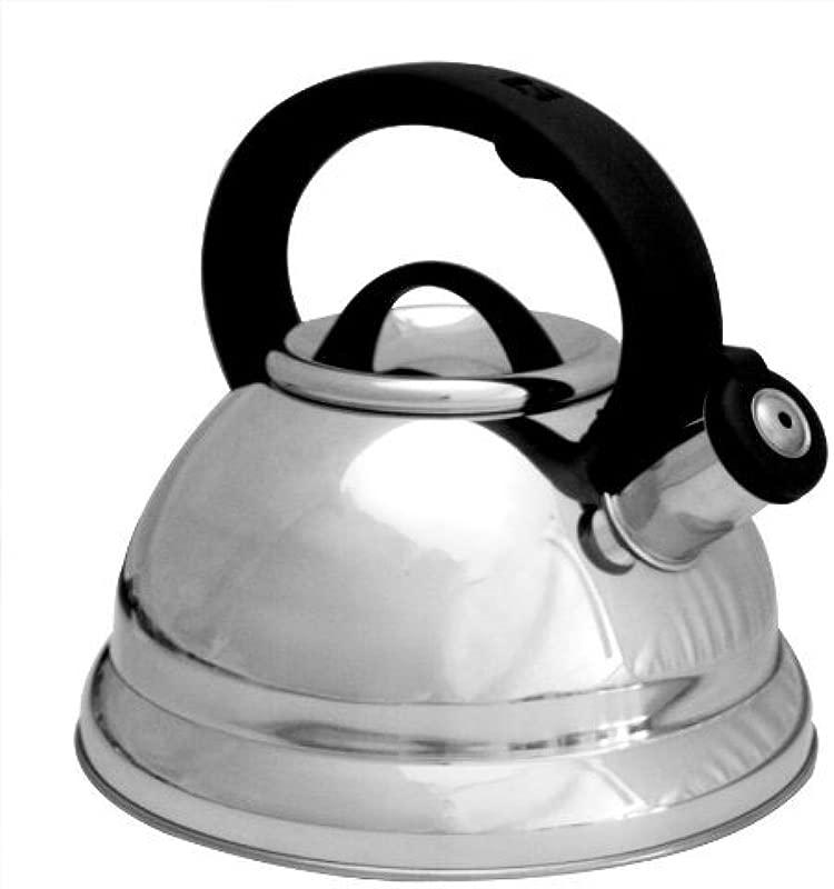 3 Qt Whistling Tea Kettle Color Silver