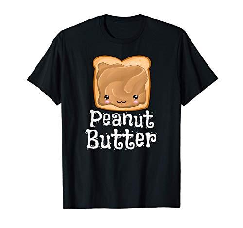 Kawaii Peanut Butter Jelly PB&J Halloween Matching Twins T-Shirt