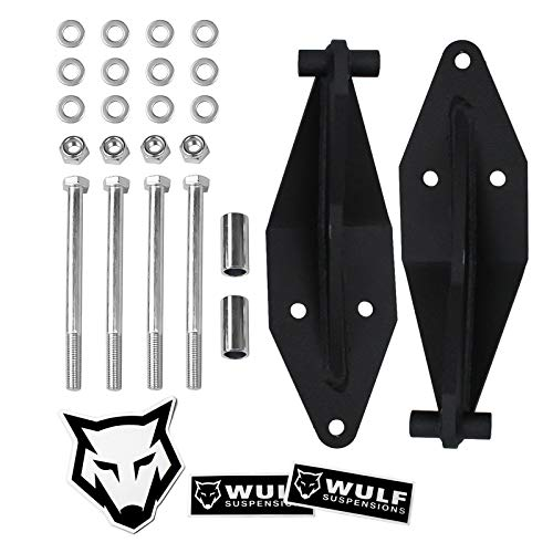 WULF Front Dual Shock Bracket Kit For 1999-2004 Ford F350 Super Duty 4WD