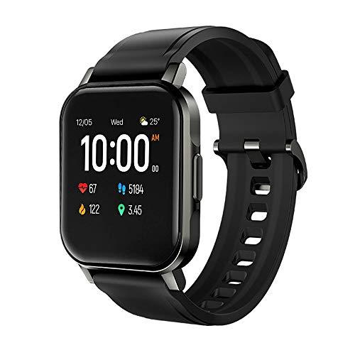 Smartwatch,Deporte Reloj de Fitness,Impermeable IP68,Pulsera de Actividad Inteligente con Monitor de Sueño Contador,Pulsómetro,Cronómetros,Calorías Podómetro,control por voz,Compatible con Android iOS