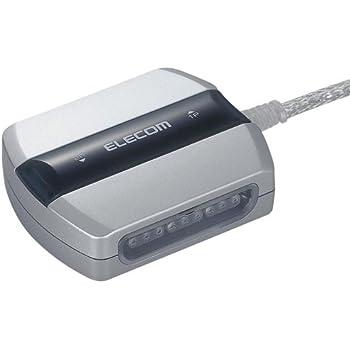 【2004年モデル】ELECOM ゲームパッドコンバータ USB接続 プレステ/プレステ2コントローラ対応 マクロ機能搭載 2ポート JC-PS202USV