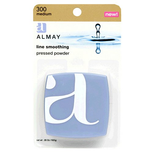 Almay Line Smoothing Pressed Powder Face Powders (Medium 300) by Almay Cosmetics