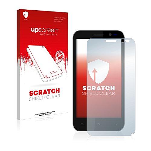 upscreen Schutzfolie kompatibel mit Kazam Tornado 2 (5.0) – Kristallklar, Kratzschutz, Anti-Fingerprint