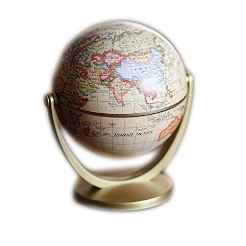 WSJ WSJEducational Swivel Globe Swivel Globe Educación temprana en inglés para Restaurar Formas Antiguas The Globe Artículos de decoración Globo terrestre Universal El Estudio Decora el Metal