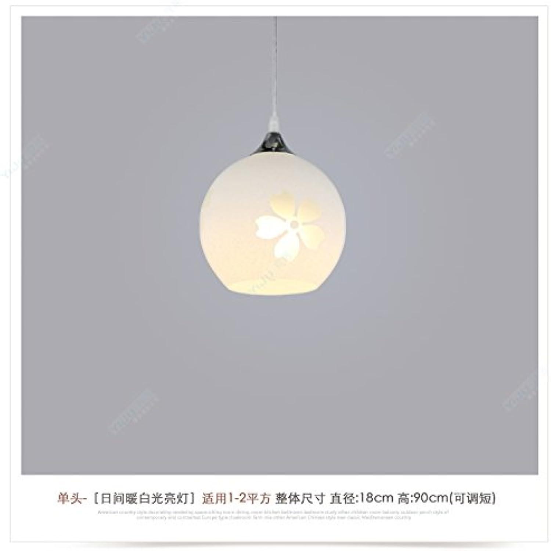 BESPD Restaurant Das moderne minimalistische Restaurant kreative Wohnzimmer Light Pendelleuchte Persnlichkeit Lampe Esszimmer Treppenhaus Kronleuchter einem Kopf eine Glühbirne nicht überein
