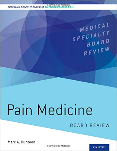Compare Textbook Prices for Pain Medicine Board Review Medical Specialty Board Review Pck Pap/Ps Edition ISBN 9780190217518 by Huntoon, Marc A.