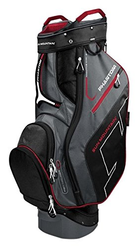 Sun Mountain Phantom-Sacca per Golf Caddy, Colore: Nero