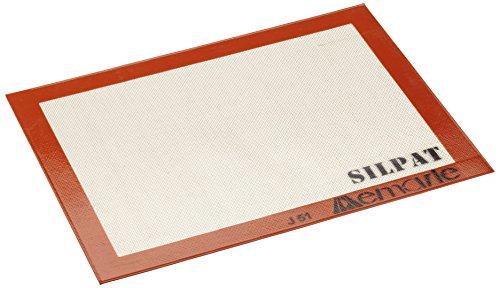 PADERNO 47680-40 Tapis de Cuisson en Silicone pour Four, Toile, Silpat Tapis pour Patisserie Anti-Adhésif Réutilisable, Format 80 x 150 cm