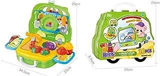 Play Food, Plastic Kids Play Food, Hamburger Pretend Play Food for Pretend Role-playing Christmas Christmas Gifts play Puz...