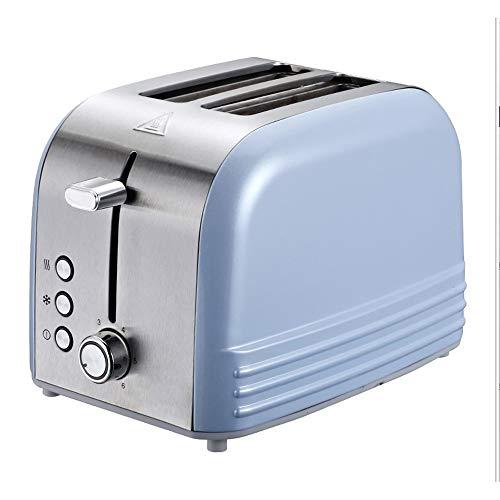 STRAW Máquina para Hornear Pan, tostadora eléctrica, para el hogar, Desayuno automático, Tostada, máquina de Arena, recalentar la Cocina