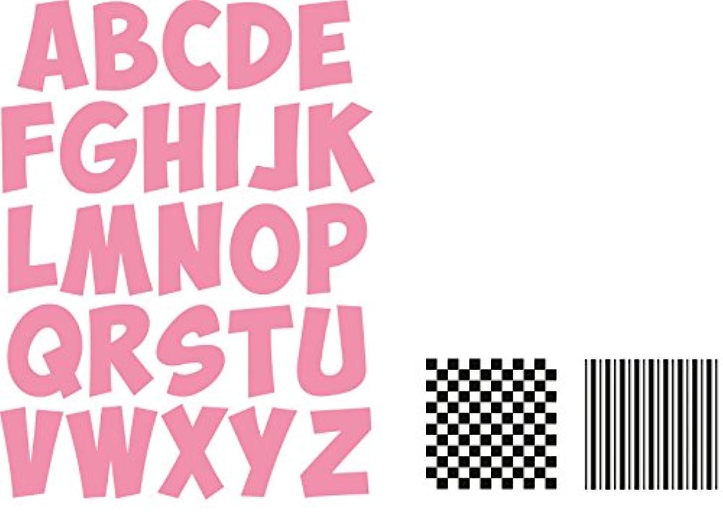 Ecstasy Crafts Marianne Design Collectables Dies with Stamps, Alphabet