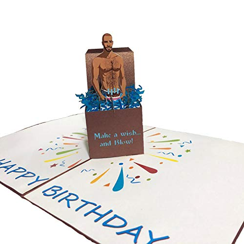 Funny Happy Birthday Greeting Card With Envelope,3d Pop Up Birthday Greeting Card,Funny Birthday Card (Style 1)