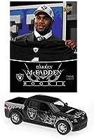 Upper Deck NFL Ford SVT Adrenalin Concept Die Cast - Raiders with Darren McFadden Card - Oakland