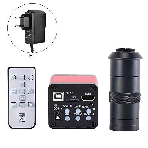 Lanceasy 48MP microscoopcamera 2K HDMI industriële microscoop digitale camera voor de industrie met afstandsbediening