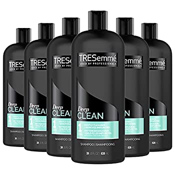 TRESemmé Cleansing Shampoo for Daily Use Clean and Replenish Vitamin C and Green Tea Clarifying Shampoo Formula 28 oz Pack of 6