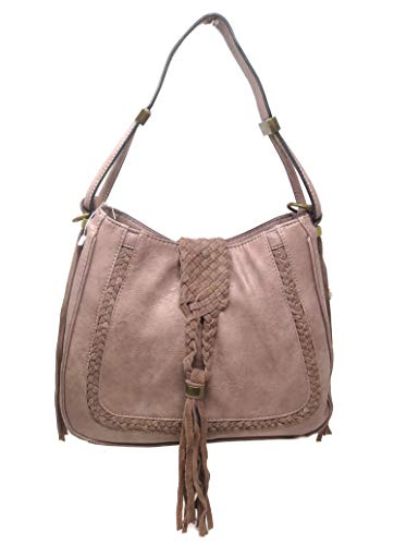 UHUBBG WomenS Bag Shoulder Slung Fashion Retro Style Street Bag Length 42Cm High 30Cm Width 14Cm Color