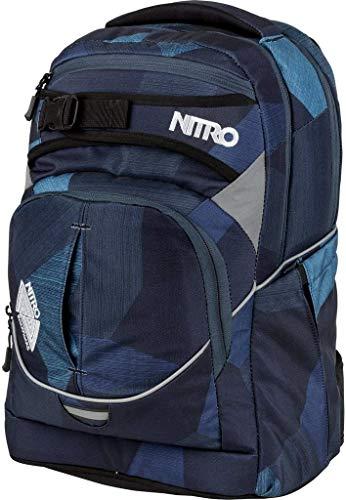 Nitro Snowboards 2018 Rucksack, 44 cm, 30 liters, Blau (Fragments Azul)