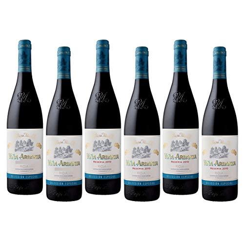 Viña Ardanza - Caja 6 Botellas - Vino Tinto Rioja - Reserva - Seleccionado por Cosecha Privada - Añada actualizada según bodega.