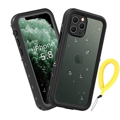 BDIG Funda iPhone 11 Pro Impermeable, [Anti-rasguños][Protección de 360 Grados],Case Protectora con Protector de Pantalla Incorporado para iPhone 11 Pro Case 5.8 Inch 2019