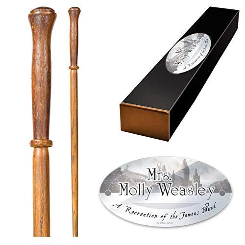 The Noble Collection - Varita de Personaje de Molly Weasley