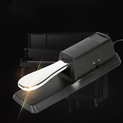 OUYAWEI Zwart Metaal Midi Toetsenbord Sustain Pedaal voor Elektrische Piano(Carton)
