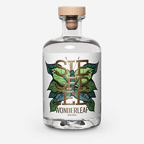Siegfried Wonderleaf | distillato analcolico - i produttori del Dry Gin Siegfried Rheinland, un distillato premiato in tutto il mondo| senza zucchero | 500 ml