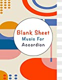 blank sheet music for sheng: music manuscript paper, clefs notebook, composition notebook, blank sheet music compositio, urban design, minimalist (8.5 ... composition books gifts | gifts standard fo