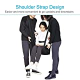 XHDMJ Patientenlifter Slings Aid Transfer Wheelchair Belt - Wiederverwendbare Notfall-Rollstuhl-Transportgurt Für Medizinische Mobilität, Patiententransferbrett - 7