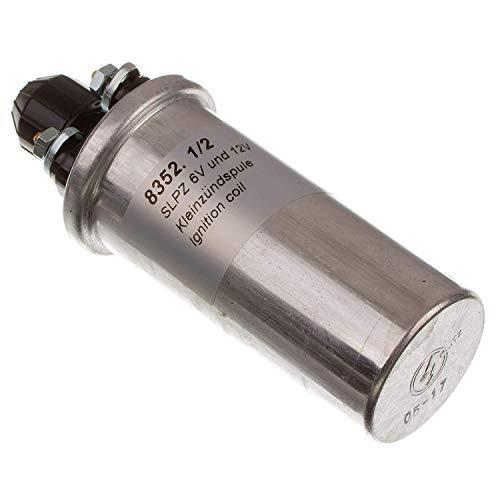 MZA Meyer-Zweiradtechnik 10081.0 Zündspule 12V 8352.1/2 für Alle 6 V und 12 V Schwunglichtprimärzünder zum Beispiel für S51, SR50, Motorrad Etz - Unterbrecherzündung