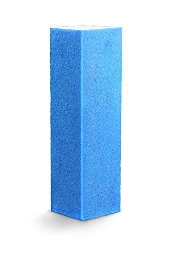 10x Tampon Bloc de ponçage - 03 Bleu - Qualité Professionnelle Made in Eu