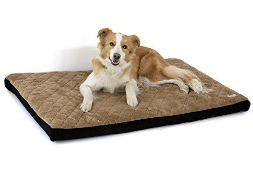 Komfy K9 Foam Waterproof Pet Bed | Cat & Dog Mattress with Washable Easy Removable Cover Pet Bedding for Pet Owners